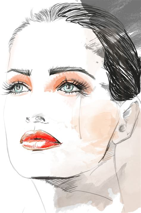 fashion illustration drawing faces how to draw fashion illustration faces