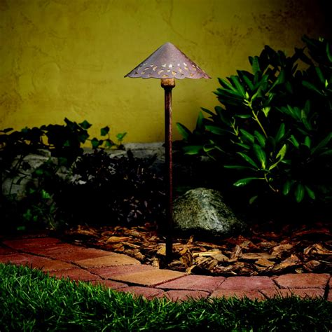 Kichler 15843tzt Landscape Led Exterior Textured Tannery Kichler Led Landscape Lighting