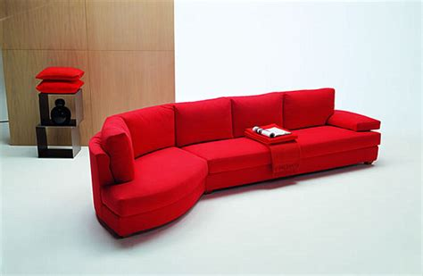 red sectional a red sectional sofa decoist