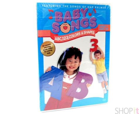 baby songs abc 123 colors and shapes dvd baby songs dvd abc 123 color shapes hap palmer ebay