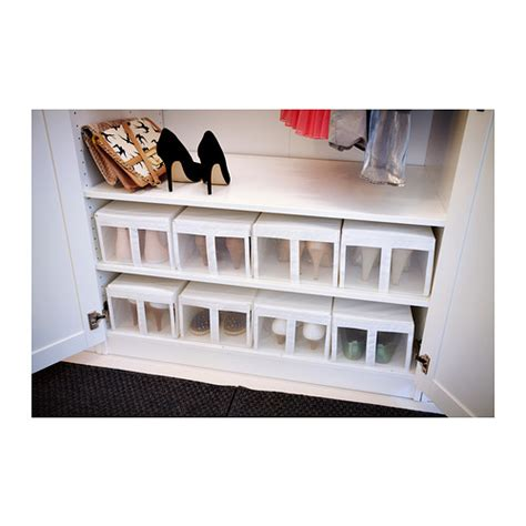 ikea shoe storage boxes skubb shoe box white 22x34x16 cm ikea