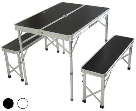 stansport heavy duty picnic table and bench set folding cing picnic table and chairs chairs seating