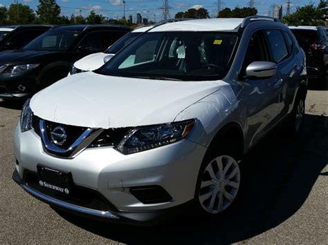 silver nissan rogue 2016 2016 nissan rogue s silver sherway nissan new car