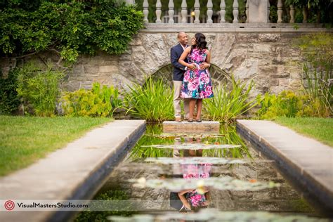 New Jersey Botanical Gardens Wedding Casually Engagement Session At New Jersey Botanical Garden Visualmasters Wedding