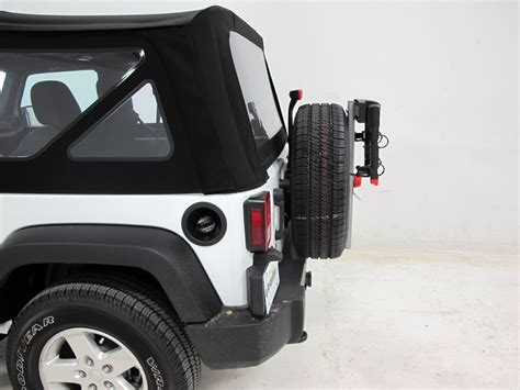 Jeep Spare Tire Carrier 2015 Jeep Wrangler Yakima Sparetime 2 Bike Carrier Spare
