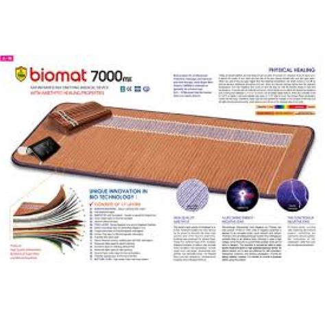 Biomat Detox by Biomat Pillow Infrared Therapy Amethyst Bio Mat