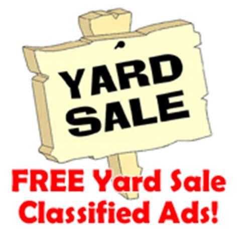 Garage Sale Classified Ad by Classified Ads For Pinedale Wyoming Pinedale