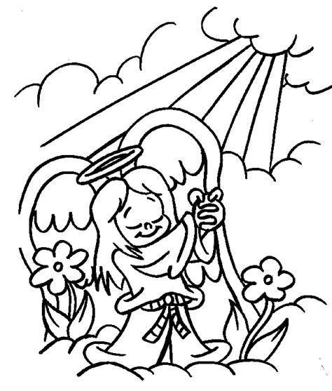 Guardian Angel Coloring Pages Cliparts Co Guardian Coloring Page