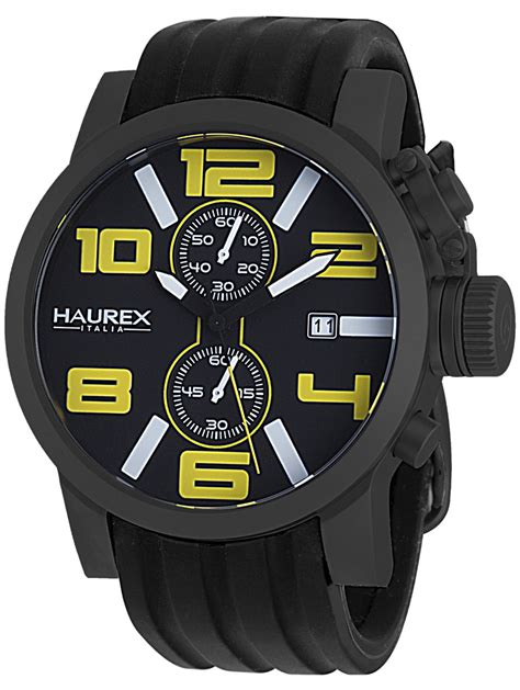 Hush Puppies Chrono Active Black 1 the new haurex turbina ii chronograph collection brands