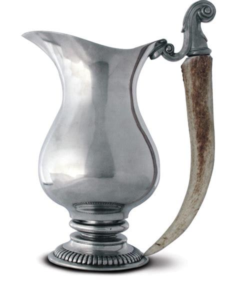 vagabond home decor vagabond house stag pitcher with antler handle