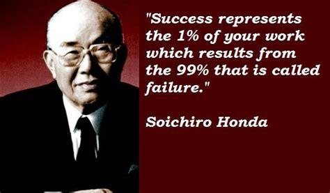 quotes by soichiro honda like success