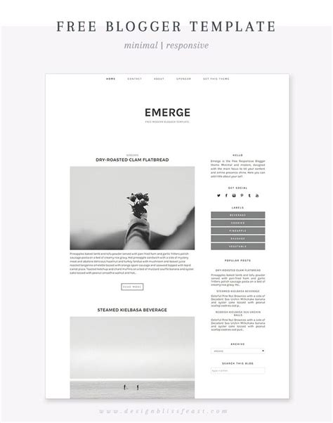 x theme blog template minimalist blogger templates www pixshark com images