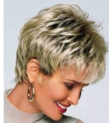 short choppy hairstyles for women over 50 fine hair 20 elegant haircuts for women over 50