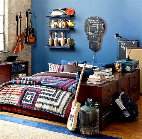 Teenage Bedroom Decorating Ideas For Boys Roses And Rust Bedrooms For Boys