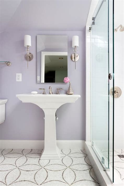 gray and lavender bathroom bathroom farrow and ball dimity