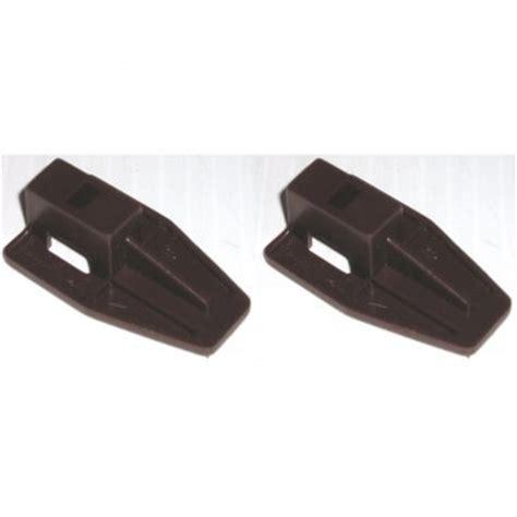 Drawer Stop Hardware by Kenlin Brown Plastic Drawer Stop Slide Runner Fits Guide