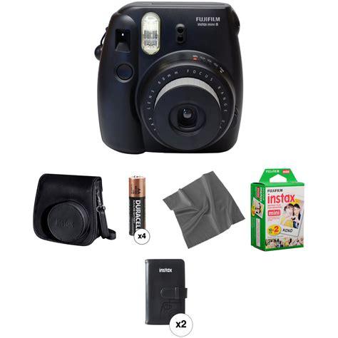 Fujifilm Instax Black fujifilm instax mini 8 instant pro kit black b h