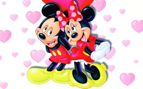 Sepatu Minny Mouse Dan Micky Mouse mickey and minnie mouse wallpapers wallpapersafari