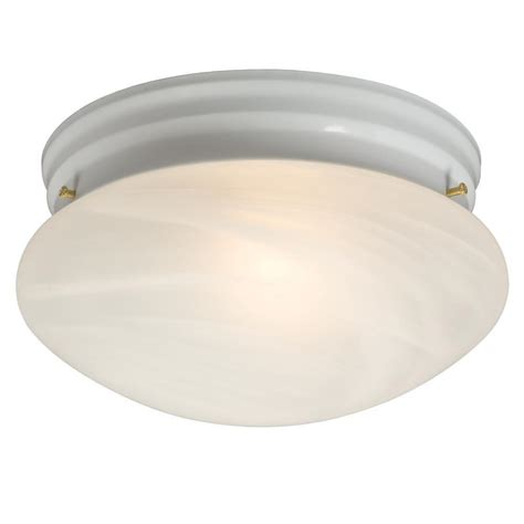 filament design negron 1 light white incandescent flush