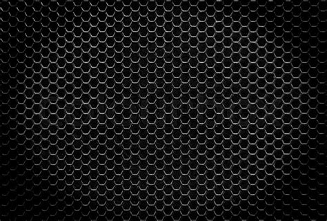 iron background black iron hexagonal texture industrial background