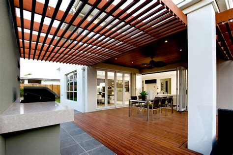 seavue qld contemporary deck brisbane by orbit homes