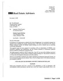 valuation letter template best photos of rent property business letter sles