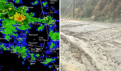 Sigalert Pch Malibu - california storm mudslide highway closed after heavy rain