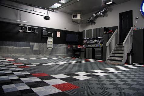 Garage Canada Stylish Modular Floors Tiles And Garage Flooring