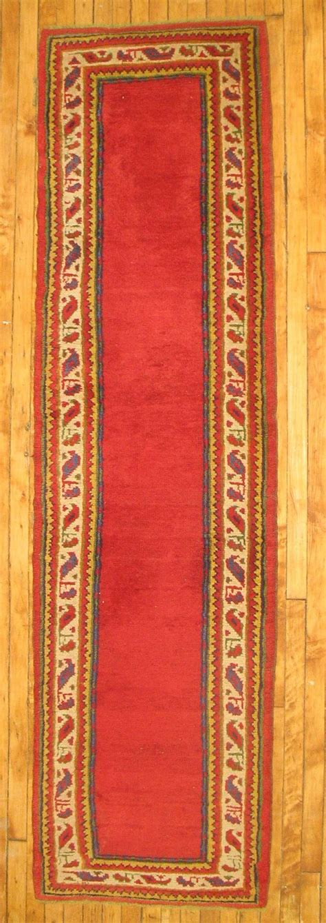 Narrow Runner Rug Narrow Turkish Oushak Runner For Sale At 1stdibs