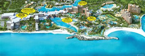 atlantis bahamas map atlantis bahamas hotel map