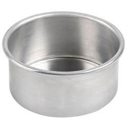 american metalcraft 3806 6 quot x 3 quot aluminum cake pan