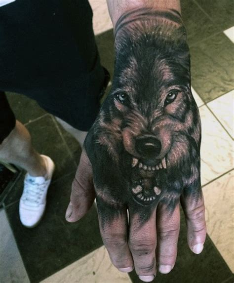 full hand wolf tattoo 70 wolf tattoo designs for men masculine idea inspiration