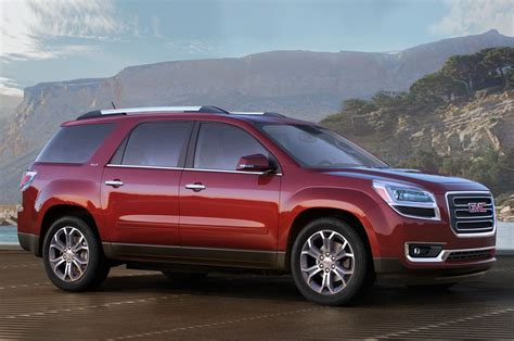 2016 gmc acadia 2016 gmc acadia reviews and rating motor trend