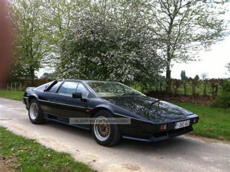 1986 lotus esprit car photo and specs 1986 lotus esprit car photo and specs