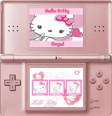 hello kitty nintendo ds hello kitty skin nintendo ds by ladypinkilicious on deviantart