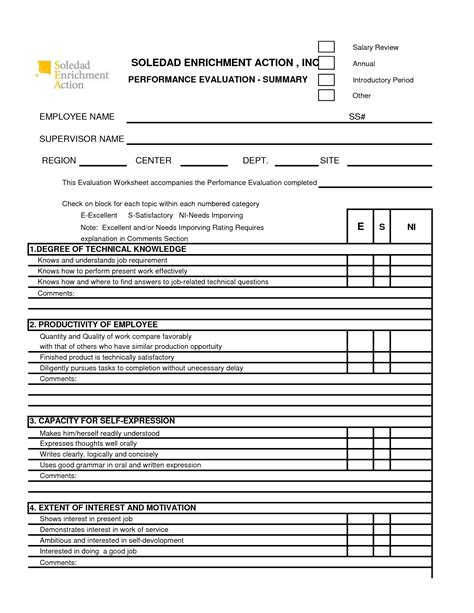 360 performance evaluation template free 360 performance appraisal form search the
