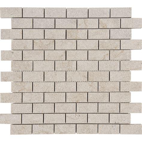 Tiles Direct Salem Grey Mosaics Brushed 1 Quot X2 Quot X3 8 Quot Marble Tile Direct