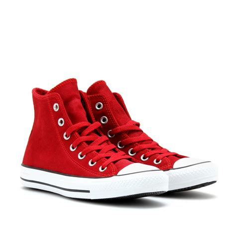 converse chuck all suede hightop sneakers in