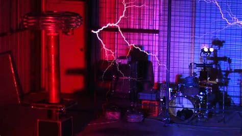 Singing Tesla Arcattack Singing Tesla Coils Countdown