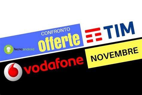 migliore offerte telefonia mobile offerte telefonia mobile novembre 2016 tim e vodafone a