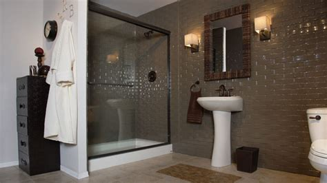 bathtub converted to shower tub to shower conversion custom conversion by rebath