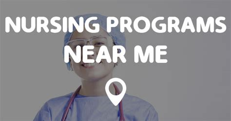 Nursing School Near Me by Nursing Programs Near Me Points Near Me