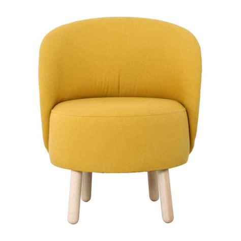BOLD Armchairs Armchair Mustard yellow Fabric Habitat