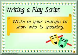 writing a play template literacy