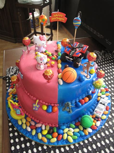 birthday themes for boy and girl birthday cakes for boys and girls