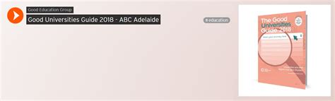 Adelaide Uni Mba Timetable 2017 by Ecu Student News The Universities Guide 2018