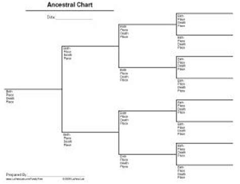 printable family tree chart 4 generations blank 4 generation family tree chart template