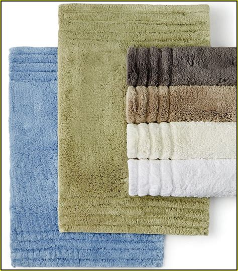 Hotel Collection Bathroom Rugs Contour Bath Rug Reversible Home Design Ideas