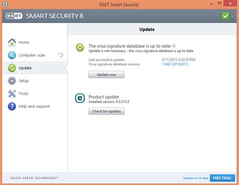 membuat eset full version eset smart security 8 antivirus ringan ampuh