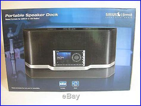 satellite radio systems 187 new sirius xm portable and home